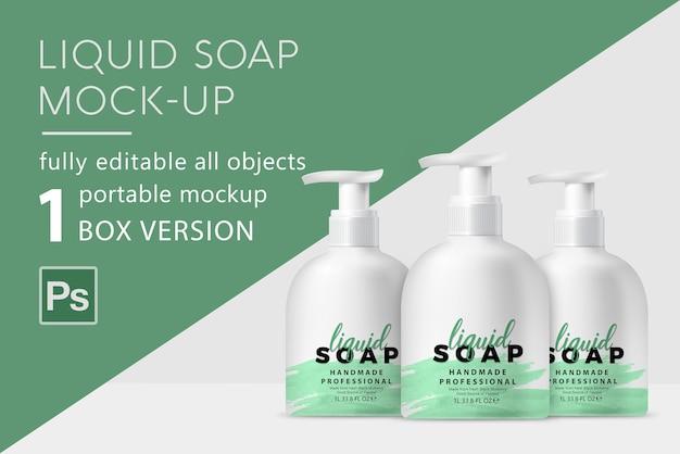 Мокап жидкого мыла
