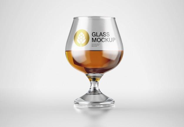 酒ガラスモックアップ