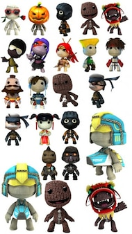 Little Big Planet characters
