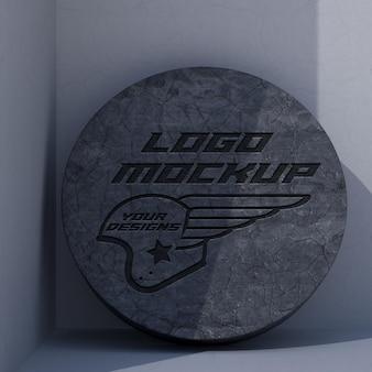 Logo mockup branding corporate identity advertising