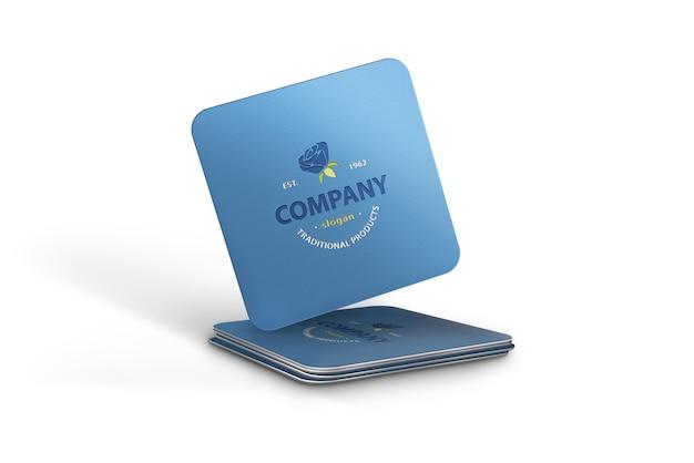 Logo mockup o a business card