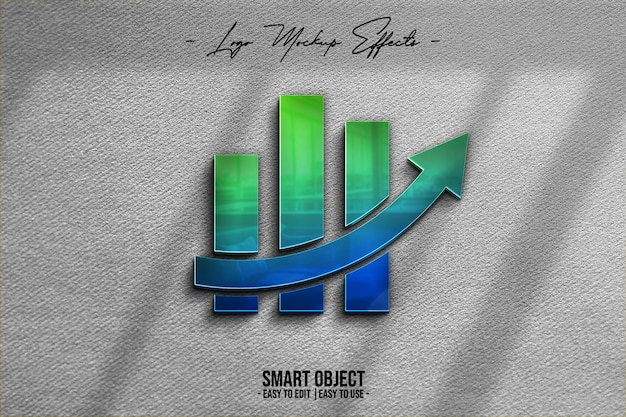 Logo-mockup-with-3d-logo