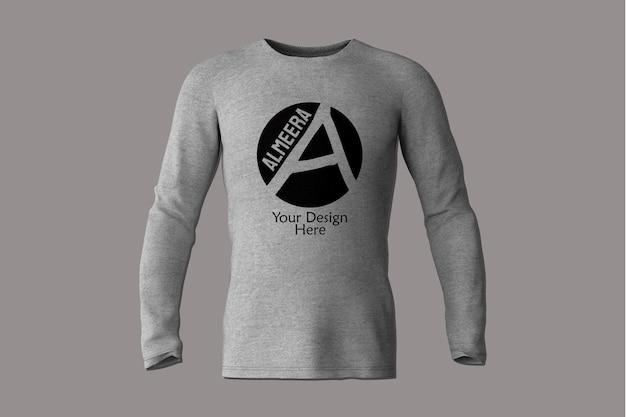 긴 소매 티셔츠 프로토 타입