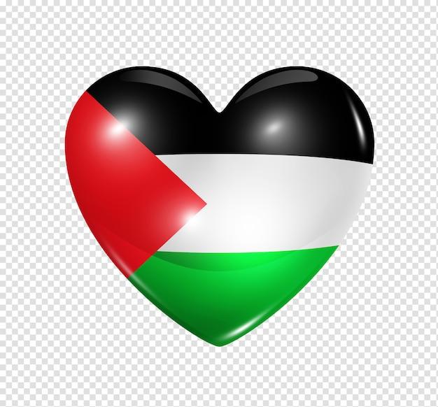 愛のパレスチナ、心臓フラグシンボル