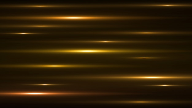 Luminous gold abstract sparkling lined background.