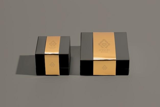 Assortimento di confezioni di gioielli di lusso