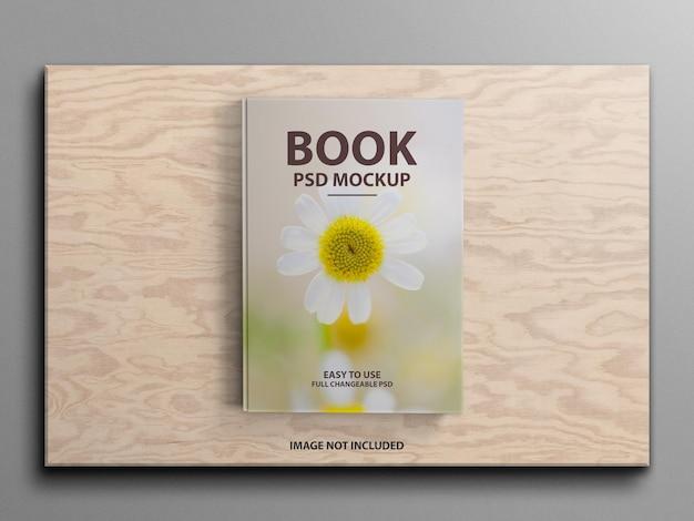 Роскошный 3d макет обложки твердой книги