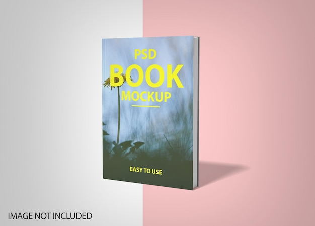 Luxury book hard cover mockup design