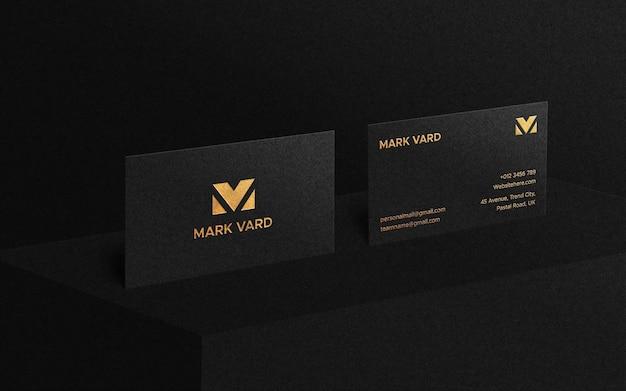Создатель макета роскошной визитки