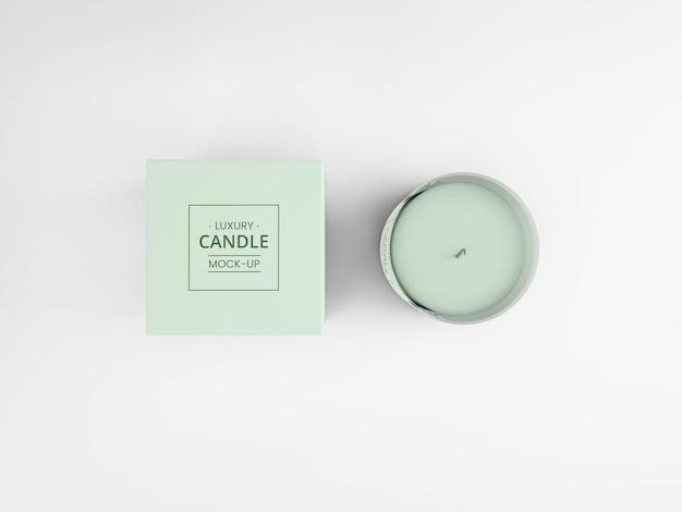 Роскошный макет свечи