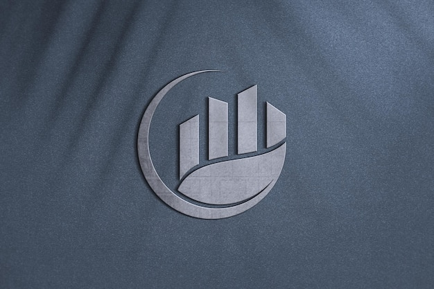 비즈니스를위한 럭셔리 로고 모형 디자인