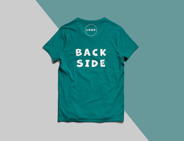 고립 된 럭셔리 티셔츠 모형
