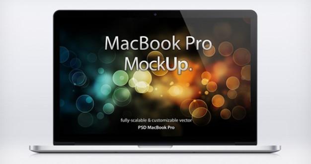 Макет ноутбуков mac