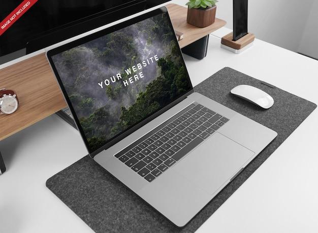 Macbook pro 15 ''モックアップ