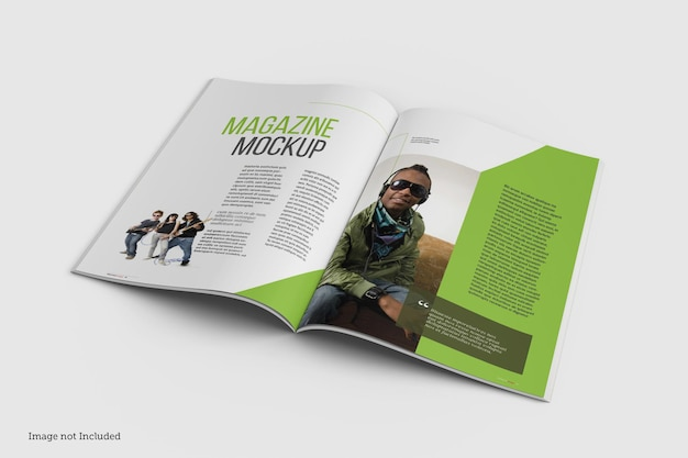 고립 된 잡지 이랑 디자인