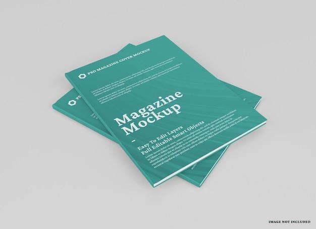 Изолированный дизайн макета журнала