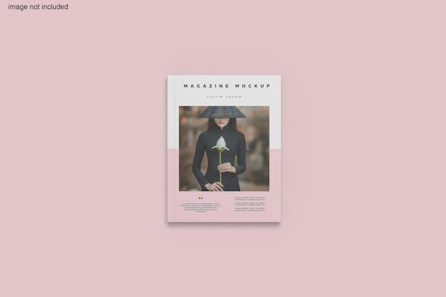 잡지 목업 디자인 렌더링