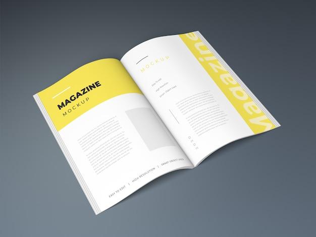 잡지 모형 디자인