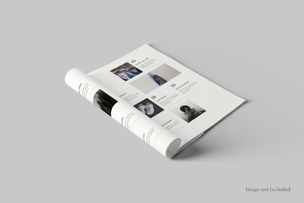 Журнал макет перспектива