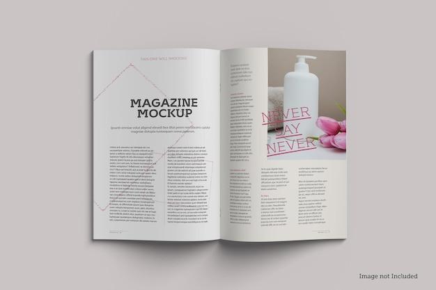 잡지 목업 렌더링 디자인