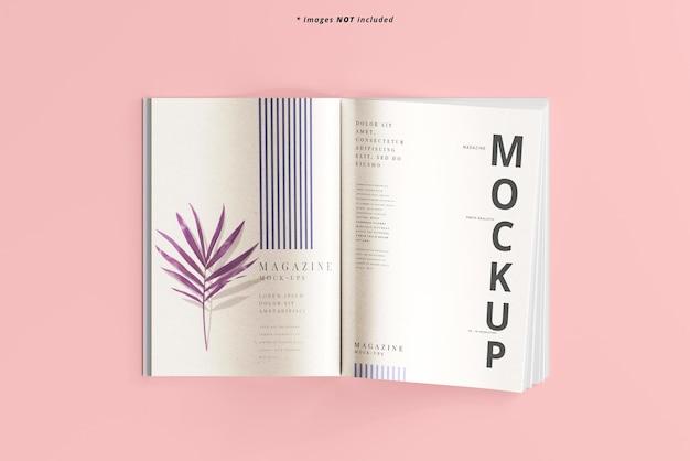 Журнал мокап