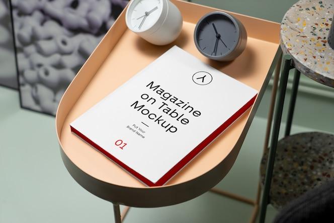 桌上杂志psd模型