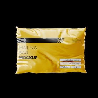 Mailing bag mockup