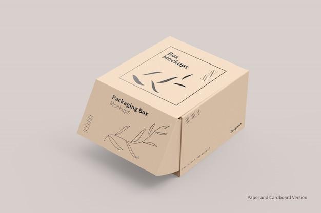 Макет упаковки для почтовых ящиков