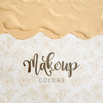 Make up colors with lettering