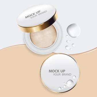 Makeup cushion powder