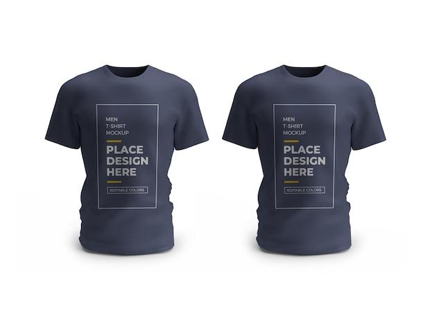 남성 티셔츠 모형