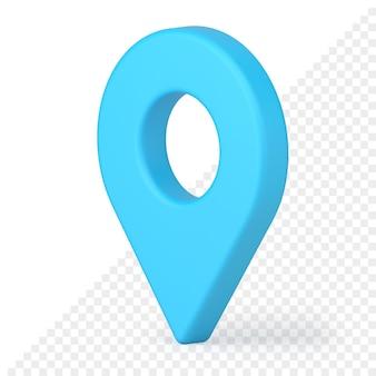 Значок карты контактный 3d