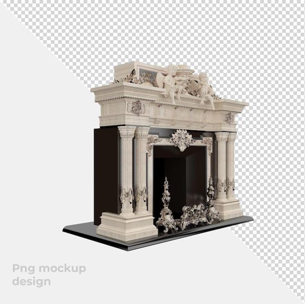 Мраморная арка, изолированные в 3d-рендеринге