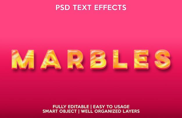 Текстовый эффект мрамора