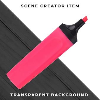 Marker pen object transparent psd