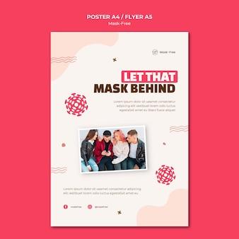 Mask-free print template