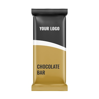 Matte chocolate bar mockup exclusive mockups for branding and packaging design