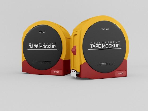Measurement tape mockup
