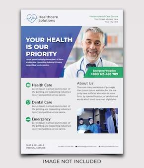 Medical healthcare flyer