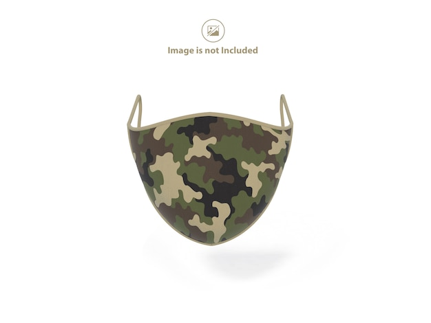医療用マスクのモックアップ
