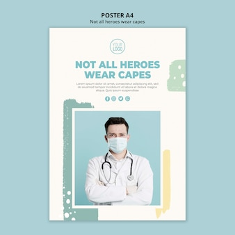 Medical professional poster design