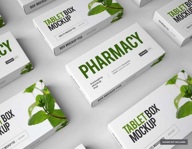 Мокап брендинга и упаковки лекарств