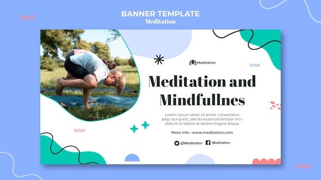 Meditationand mindfulness banner