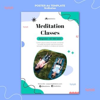 Meditationand mindfulness poster