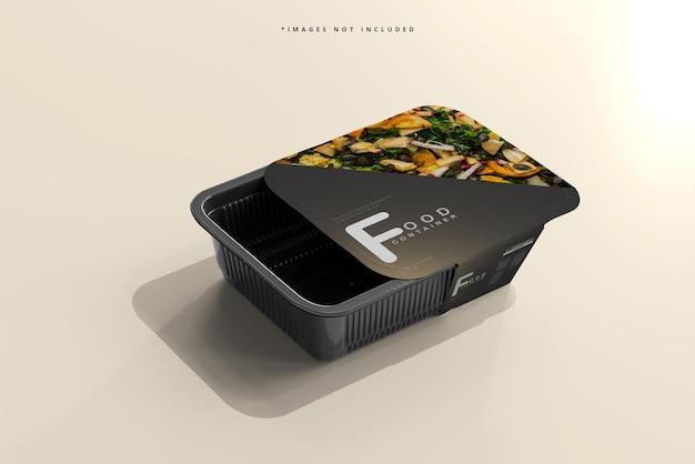 Мокап контейнера для еды среднего размера