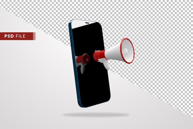 メガホンスマートフォンのコンセプト、マーケティング、ビジネス戦略
