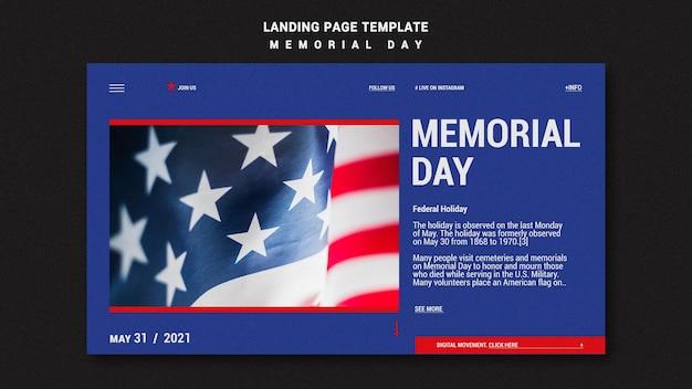 記念日のランディングページテンプレート