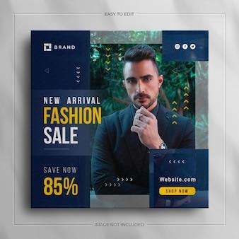 Men fashion instagram story template
