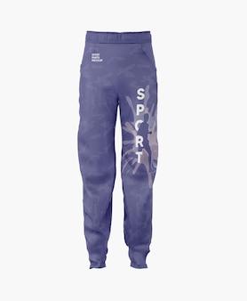 Мокап мужских спортивных штанов