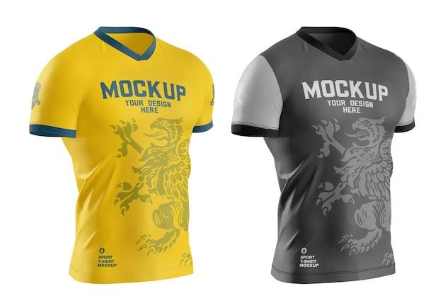 남성 스포츠 티셔츠 모형